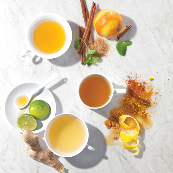In Pursuit of Healthiness: Homemade Herbal Teas for Chilly Days