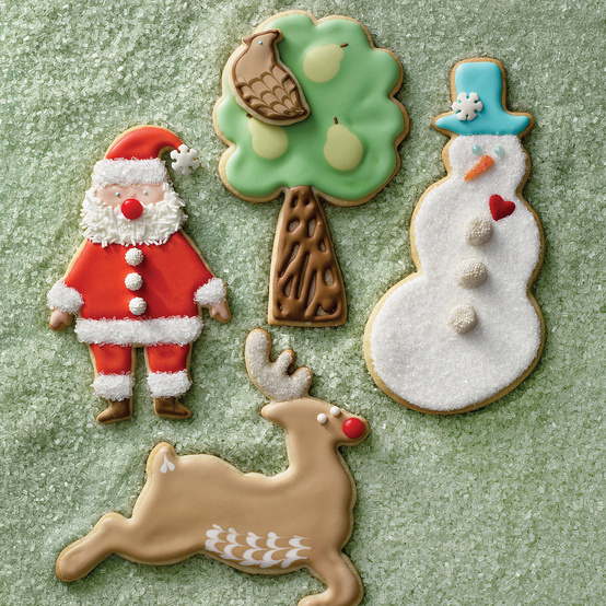 Royal Icing for Holiday Sugar Cookies