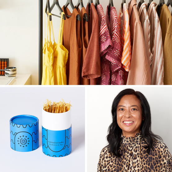 Tina Burgos and her shop Covet + Lou