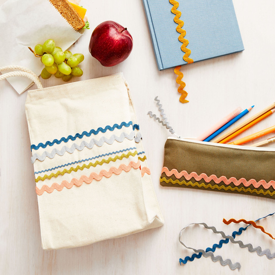 school supplies crafts
