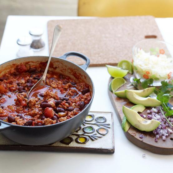 hearty turkey chili
