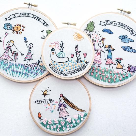 inez tan embroidery