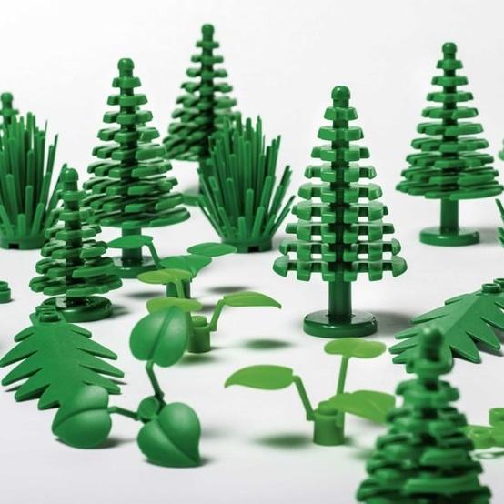 LEGO sustainable bricks