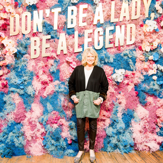 Martha Stewart at the Create & Cultivate event in New York.