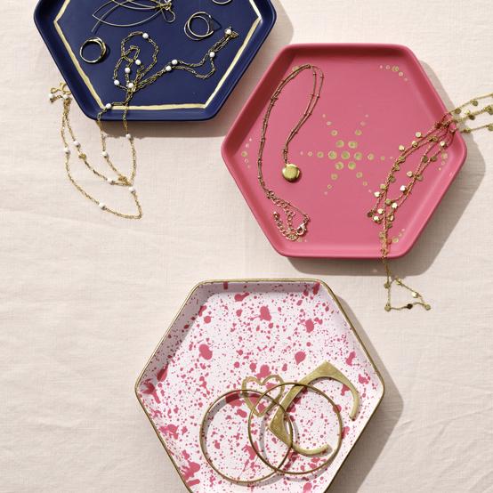 marbled jewelry dish
