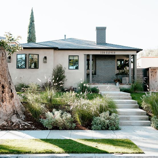 california house redo exterior shot