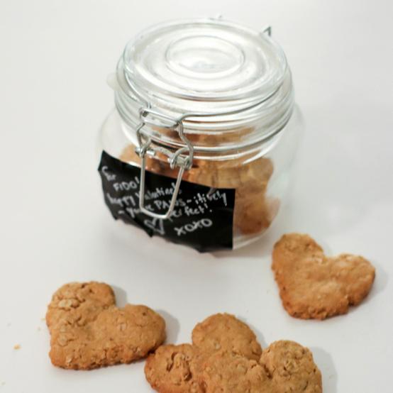 dog treats in a jar