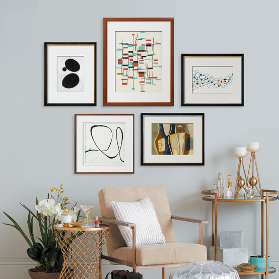 gallery wall