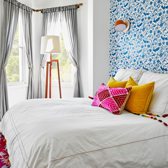 dania colorful home redo master bedroom