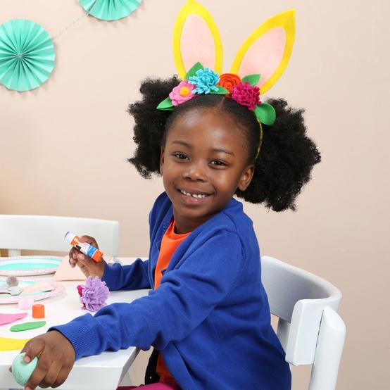 复活节的孩子crafternoon
