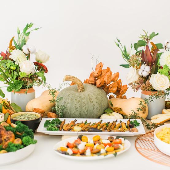 感恩节食物花葫芦