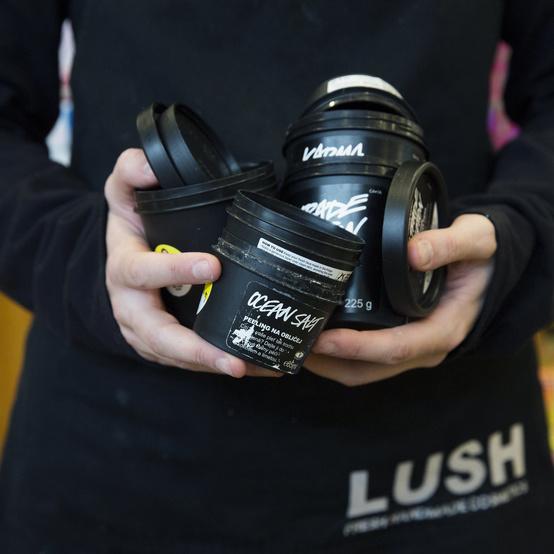 lush recycled pods program