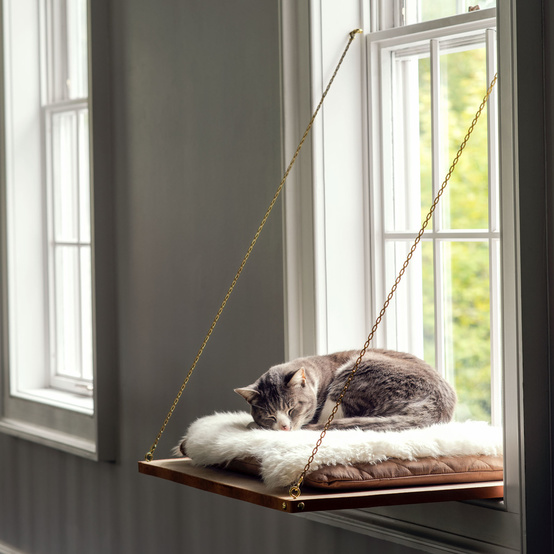 window ledge cat bed