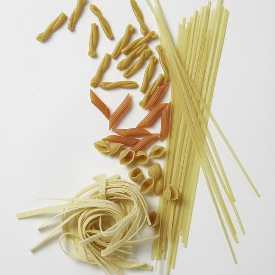 Gluten Free Pasta Flat Lay