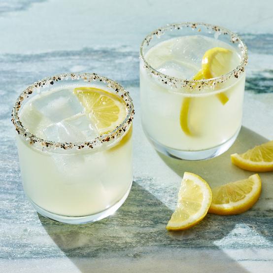 lemon mezcal margarita
