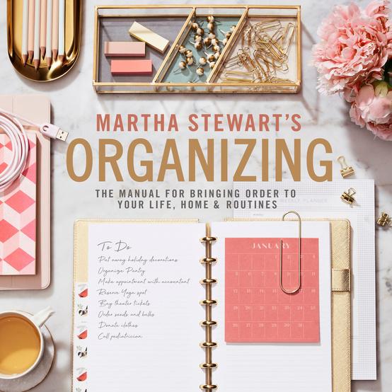 "Cover of ""Martha Stewart's Organizing"""