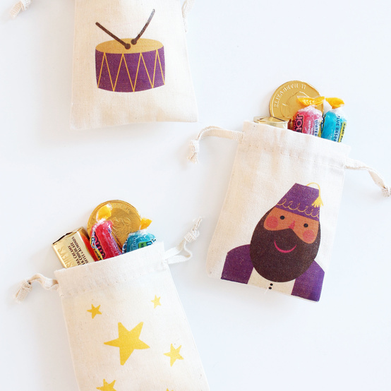 Ramadan drummer treat bags