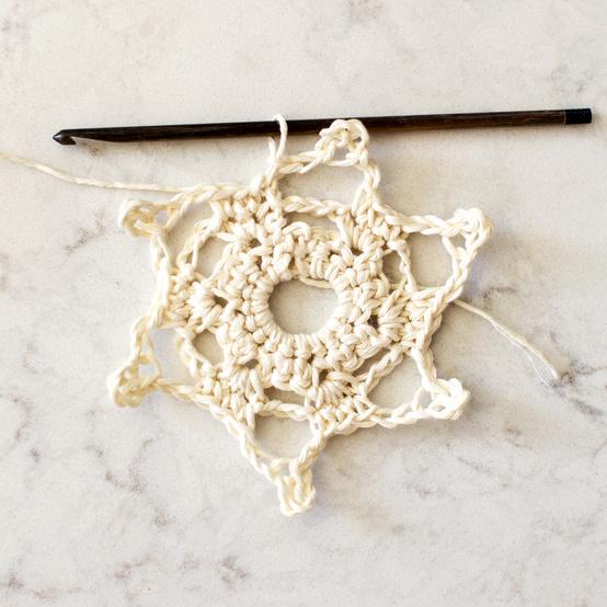 skinny snowflake pattern 2 step h
