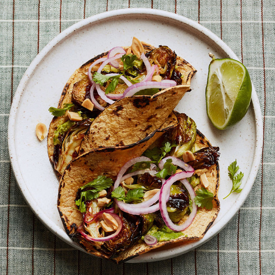 Brussels-Sprout Tacos