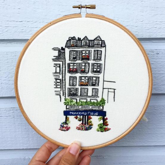 Le Kadre embroidery