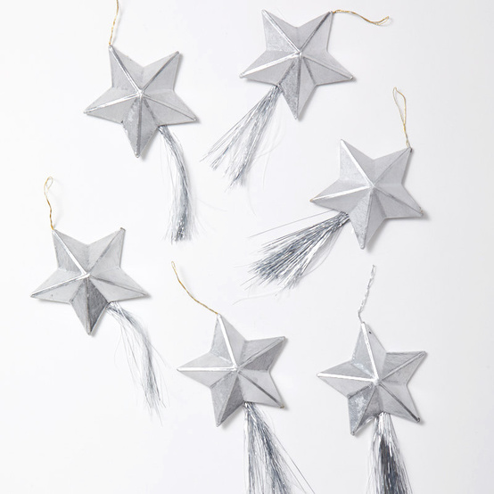 shooting star ornaments