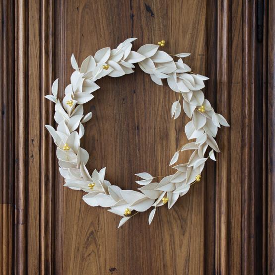 canvas wreath diy