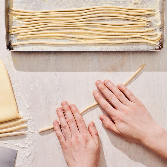 Eggless Pasta Dough