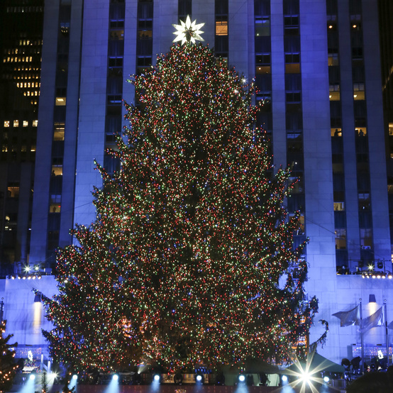 Rockefeller Center Christmas Tree in 2017