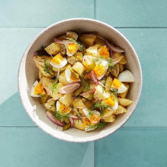 Dill, Potato, and Egg Salad