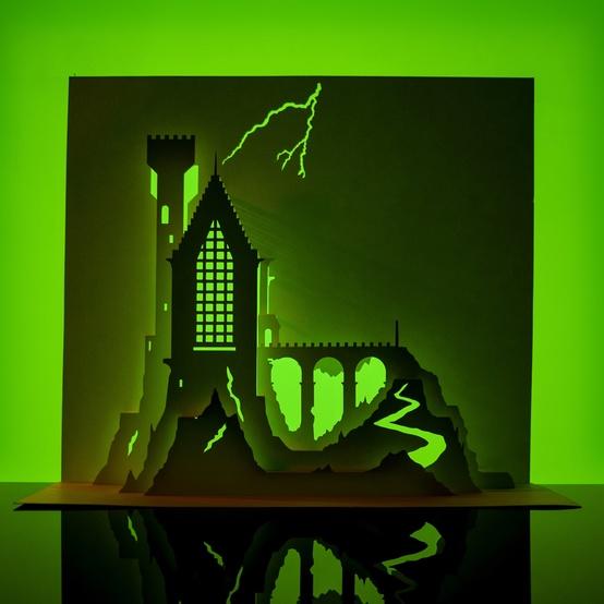 弗兰肯斯坦-望塔-Horrorgami-1017