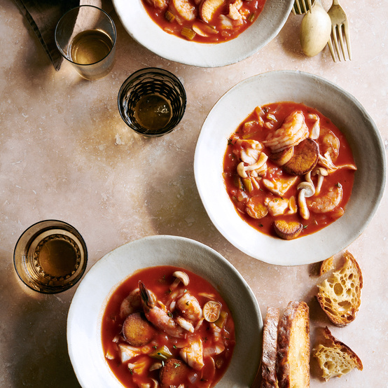 mid-atlantic seafood stew