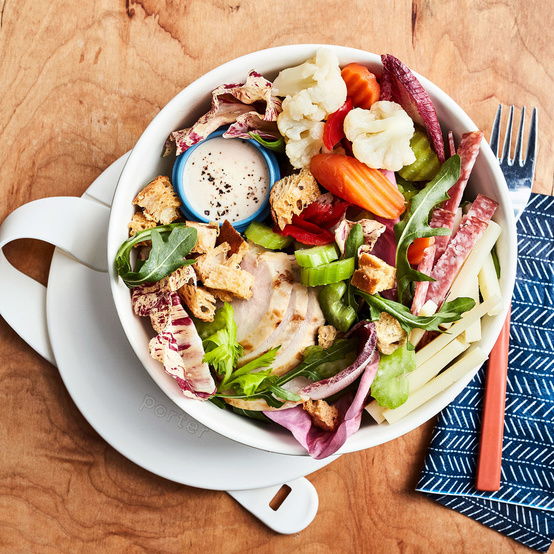 italian hero chopped salad