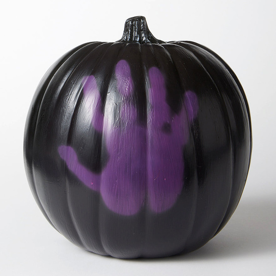 color changing thermochromic pumpkin