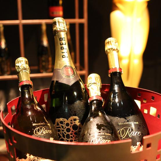 oscars ball piper heidsieck champagne