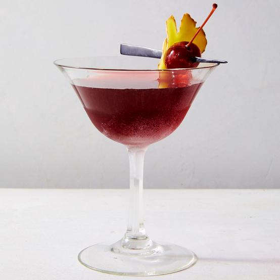 Tart Cherry and Ginger Margarita