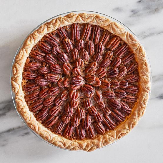 Brown-Butter Bourbon Pecan Pie