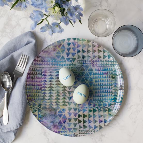 david stark easter egg plate