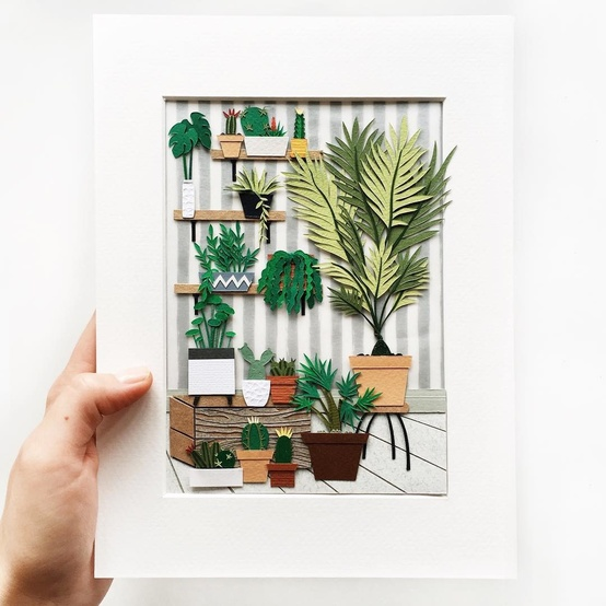 paper-plant-crafter-tania-potted-shelves