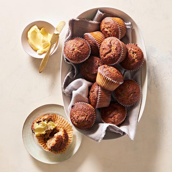 Maple Bran Muffins recipe