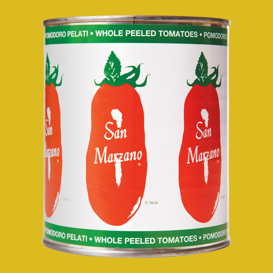 San Marzano can of whole peeled tomatoes