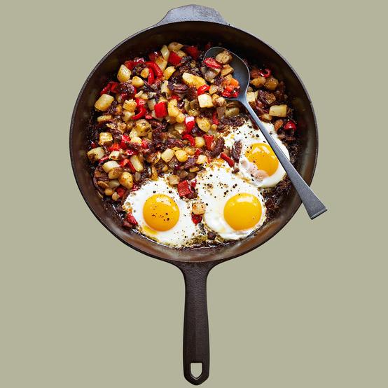 gregs campfire breakfast hash