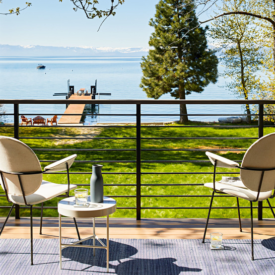 lake tahoe house porch