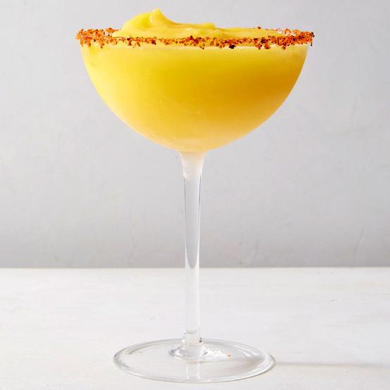 Spicy-Sweet Frozen Mango Margarita