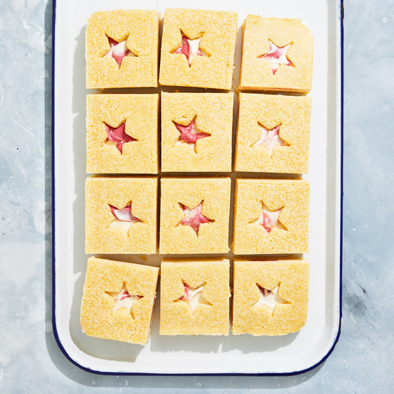 Star-Spangled Ice Cream Sandwiches