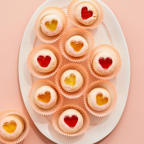 Sweetheart Thumbprint Cookies