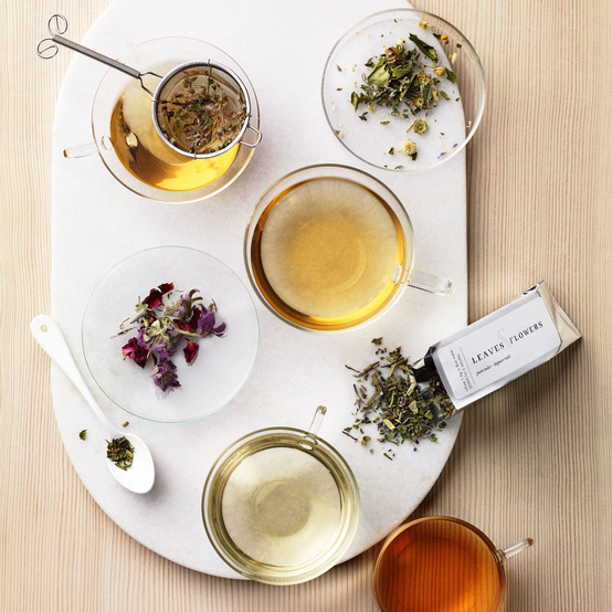 leaves and flowers tea american made