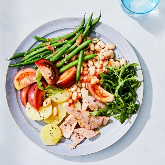 Tuna, Tomato, and White-Bean Salad