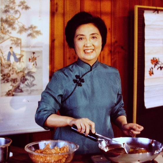 Joyce Chen cooking