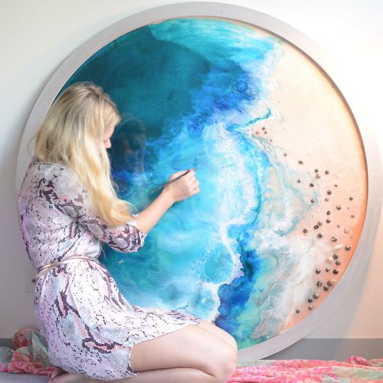 Marie Antuanelle Seascape
