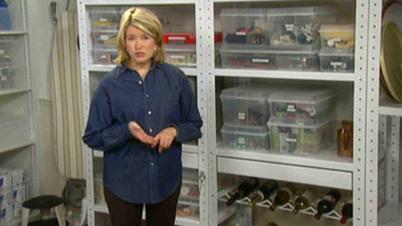 sc 1 st  Martha Stewart & Video: Basement Shelves | Martha Stewart